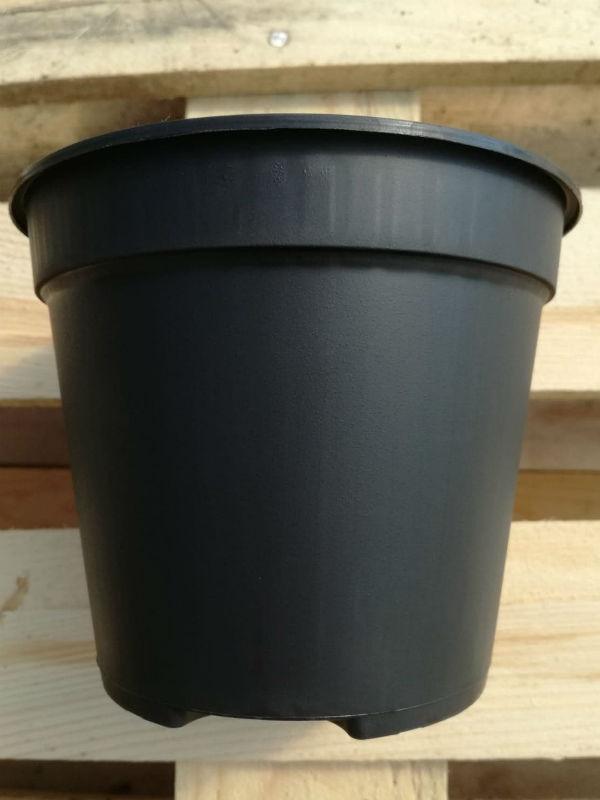 Produttori Vasi In Plastica.Vaso In Plastica Nero Diametro 14 Cm Produzione E Vendita Online