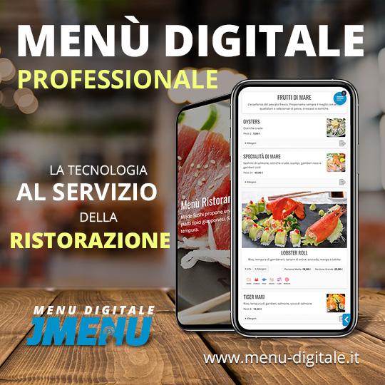 Menu Digitale per Ristoranti