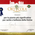 Riconoscimenti Geel Floricultura - Orticola 2015 Milano