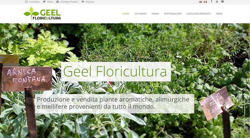 sito web geel floricultura
